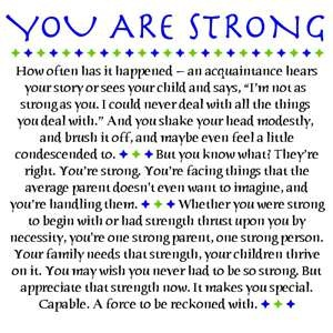 strong parent