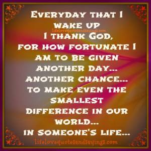 thanking everyday